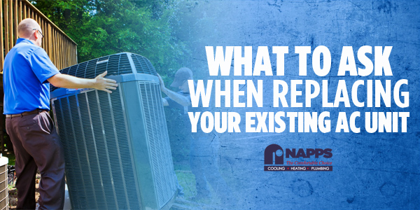 What to Ask When Replacing Your Existing AC Unit