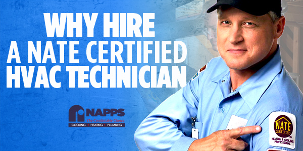 Why Hire A NATE Certified HVAC Technician