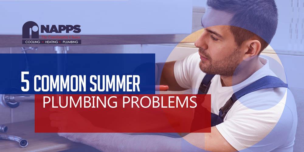 5 Common plumbing problems